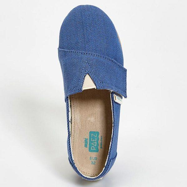 (CO30501K1001-316) Paez Original Gum Combi Kids - Blue Leather EVA insole