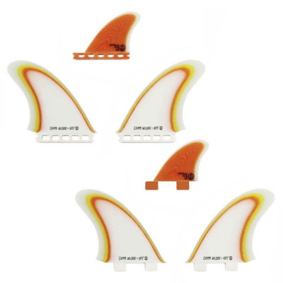 Chippa Wilson Twin Especial Fins with Trailer Fin