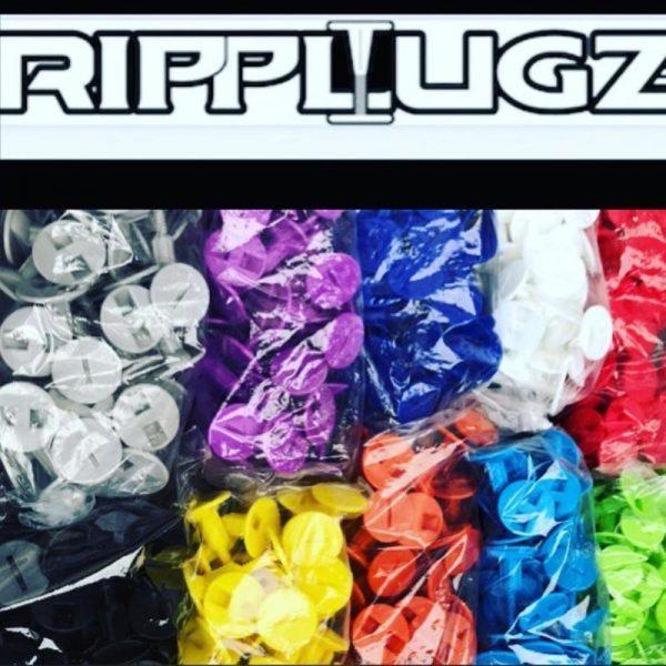 RipPlugz Bodyboard Lug & Screws