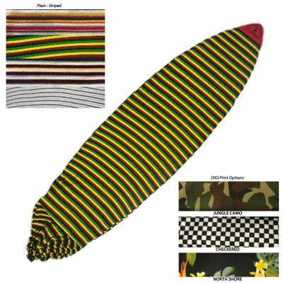 Pointy Nose Surfboard Stretchy Socks